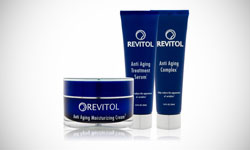 Revitol Skin Care Product Logo Design