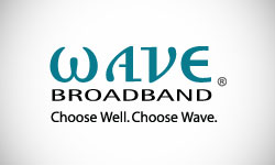 Wave Broadband Logo Design