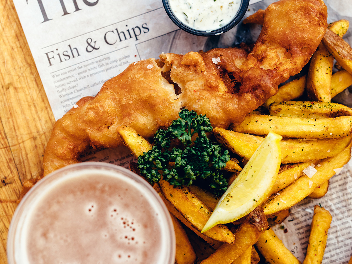 Clash of the Logos: Fish and Chips Edition