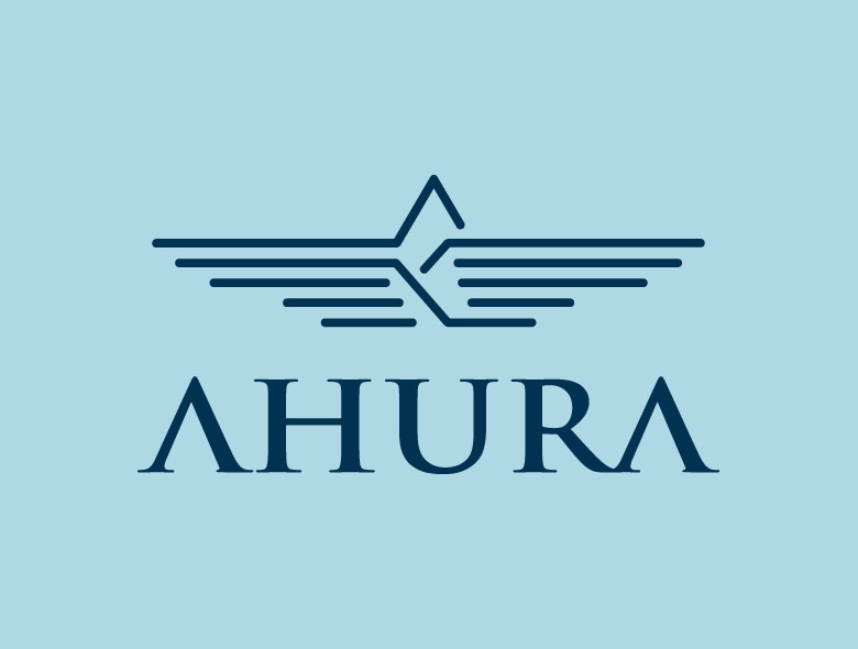 Ahura Builders Pune India Logo Design