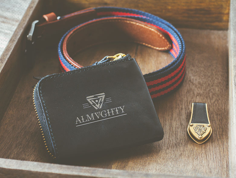 Almvghty Clothing Label Branding