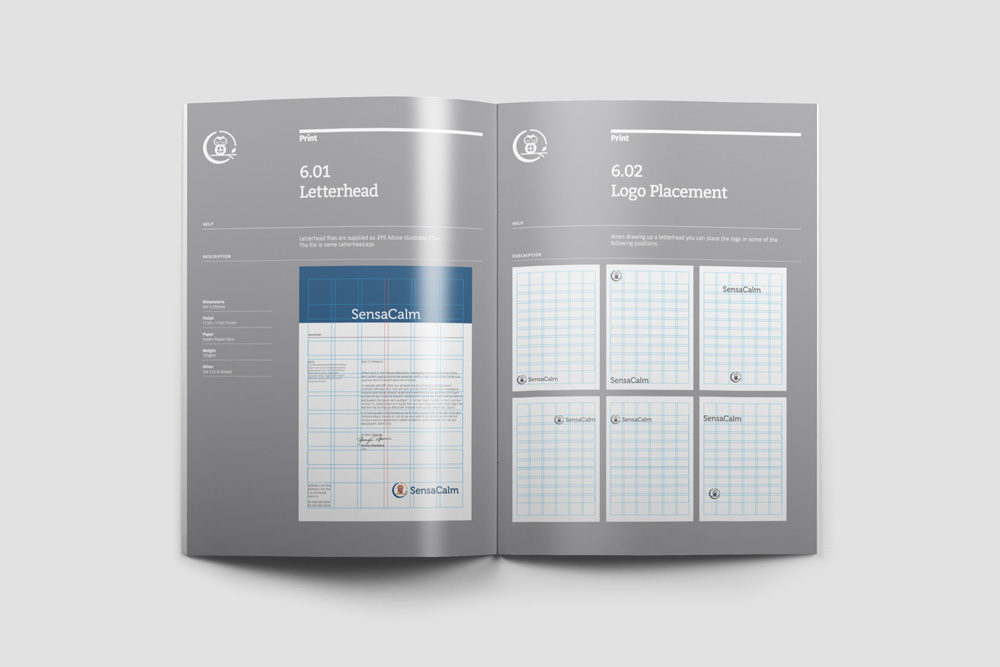 Brand Manual Grid Systems
