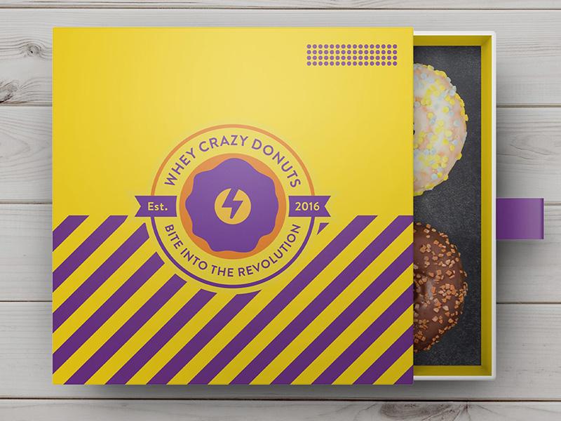Protein Foods Bakery Branding