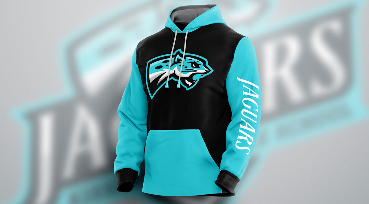 sports team hoodie design