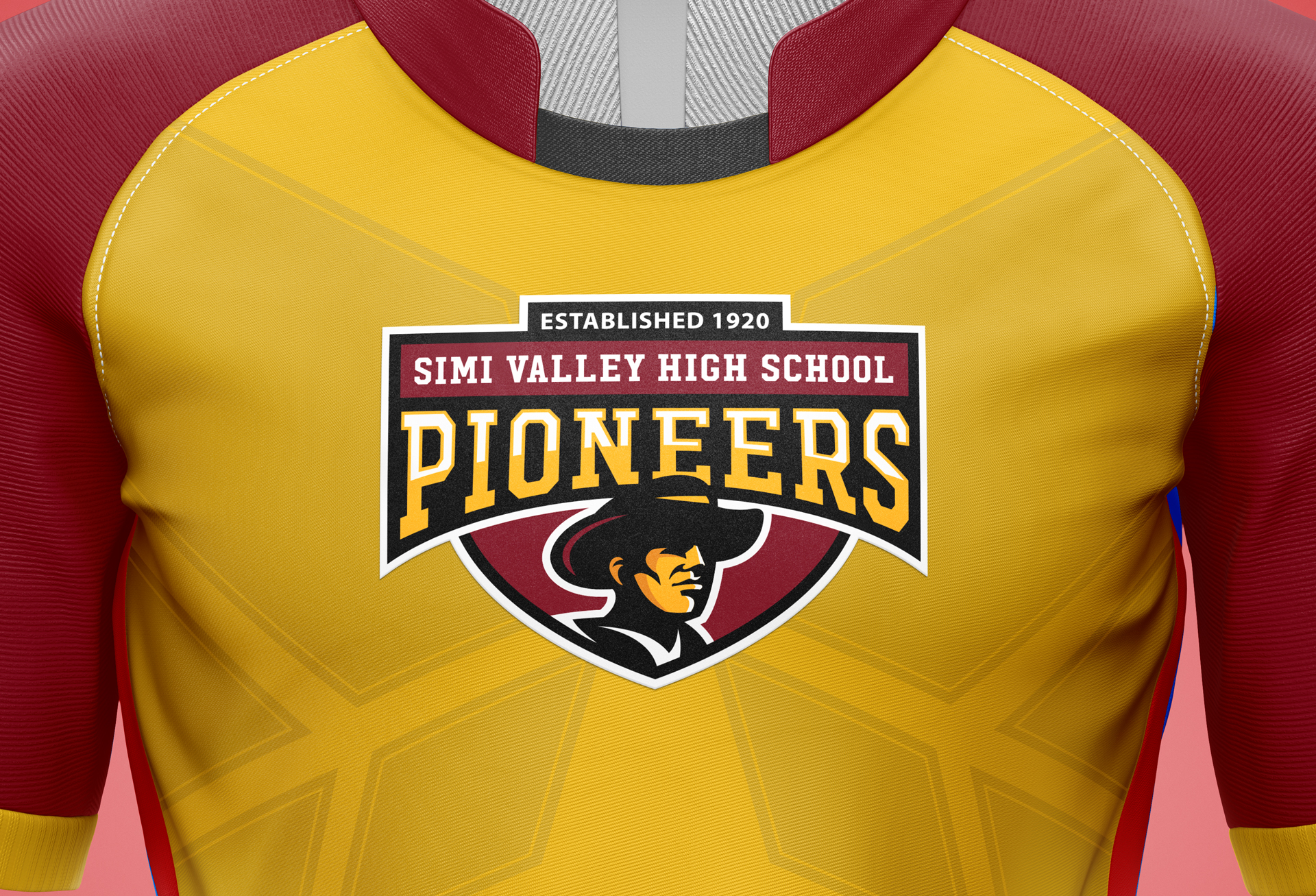 simi valley high school brand identity